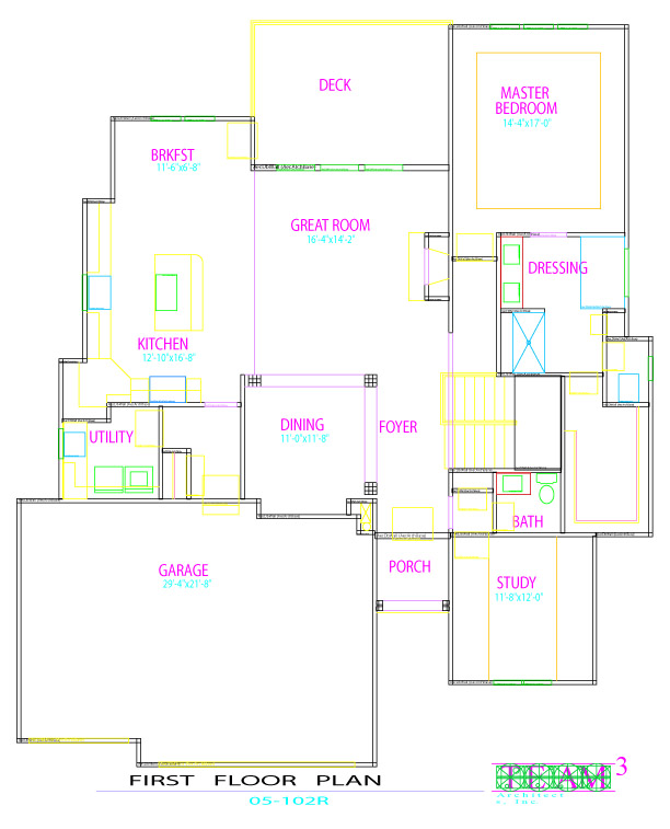 Mackey Custom Homes - Floor Plans